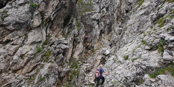 Klettersteig Direttissima di Grignetta