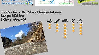 Tour 5 Glatttal und Heimbachsperre