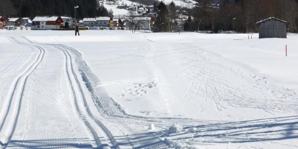 Einstieg in die Große (klassisch) und Kleine (skating) Gortipohl Runde