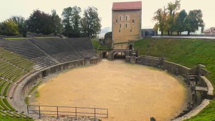 L'amphithéâtre à Avenches