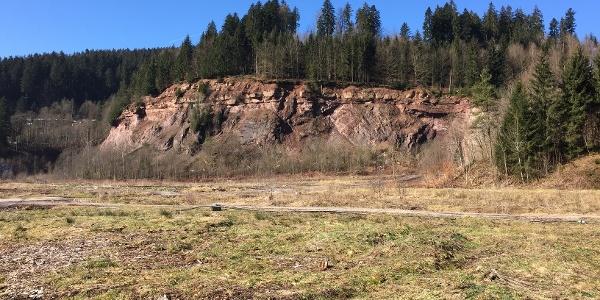 Murgtal Baiersbronn alter Steinbruch