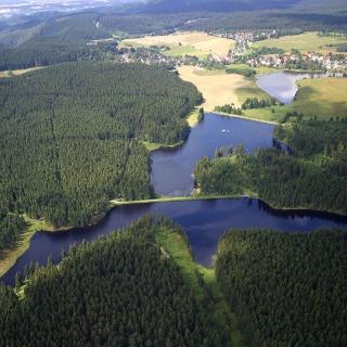 Teiche der Auerhahn-Kaskade