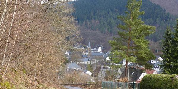 Blick auf Eiserfeld