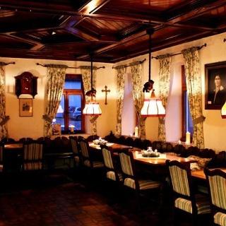Essbereich des Restaurants