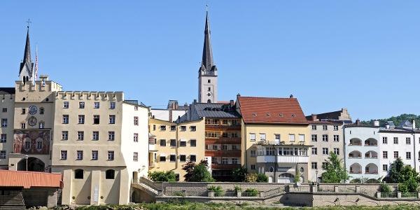 Stadtzentrum Wasserburg