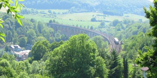 Blick auf den Viadukt