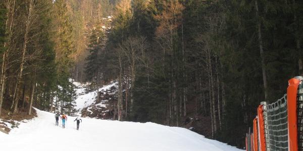 Talabfahrt während des Aufstieges