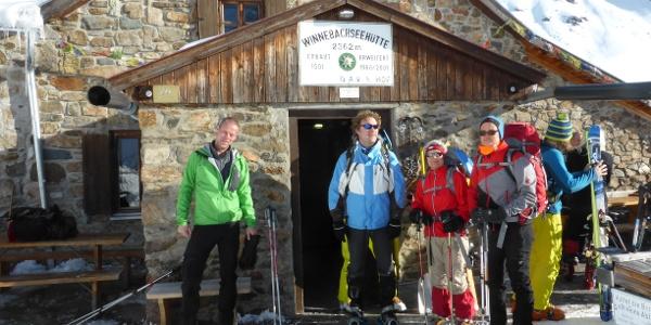 Start an der Winnebachseehütte