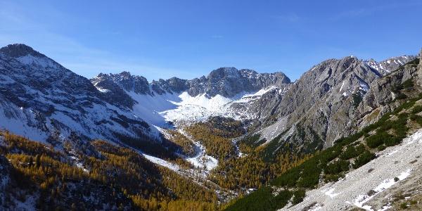 Abstieg zur Kerschbaumer Alm (1902 m)