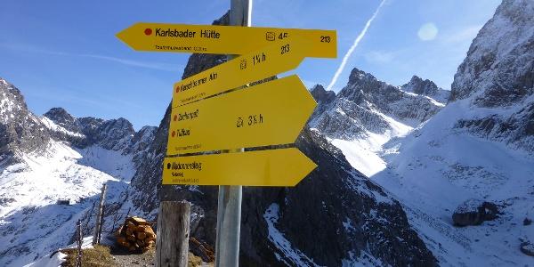 Kerschbaumertörl (2285 m)