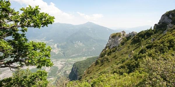 Ausblick vom Monte Brento