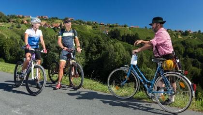 Tradition und Moderne in der Radregion Steiermark