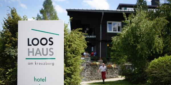 Ansicht Looshaus am Kreuzberg