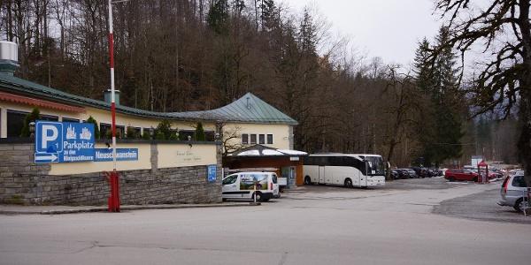 Parpkplatz P1 in Hohenschwangau