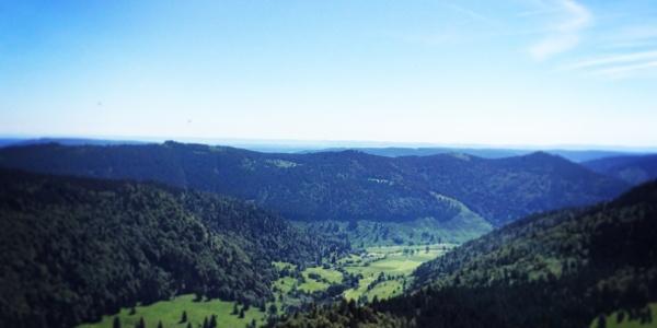 Blick vom Herzogenhorn