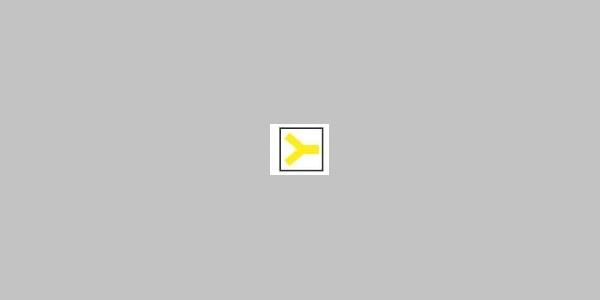 gelbe Gabel (Nebenweg