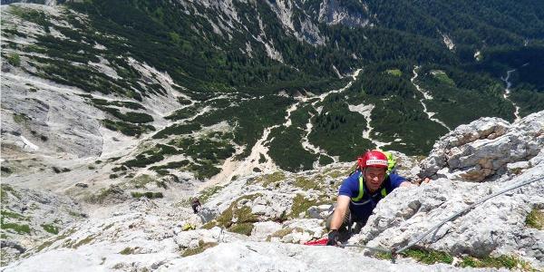 Klettersteig aufs Wagenddrischlhorn