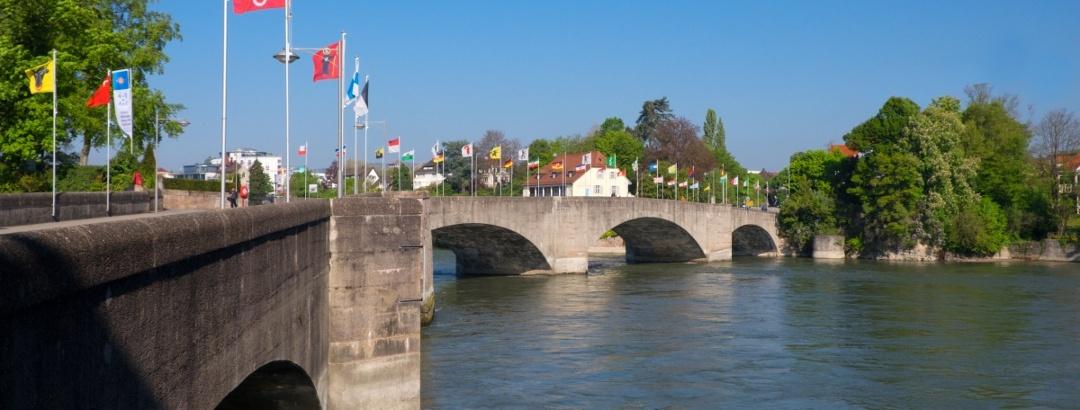 Alte Rheinbrücke von Rheinfelden