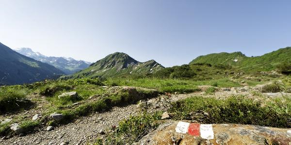 Wanderweg Furkajoch