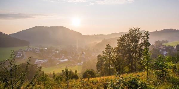 Blick auf Oberkirchen