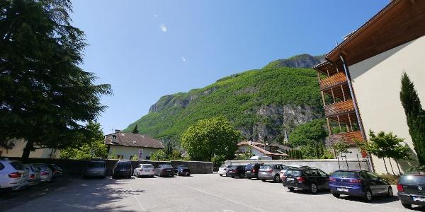 Parkplatz in Margreid