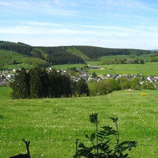 Wunderschöne Aussicht nach Nieder-Unglinghausen