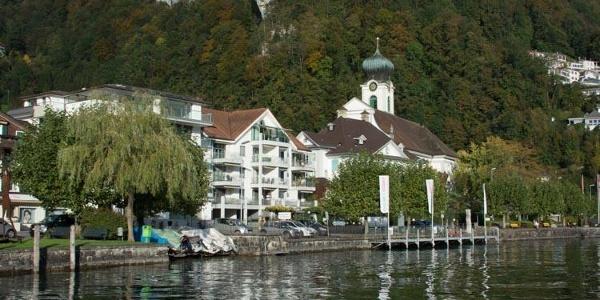 Dorf Gersau.