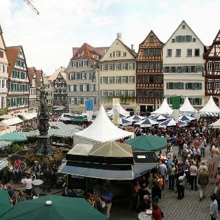 Tübinger Marktplatz
