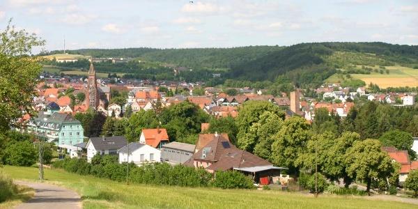 Blick auf Hardheim