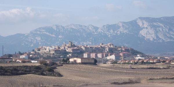 Blick auf Laguardia