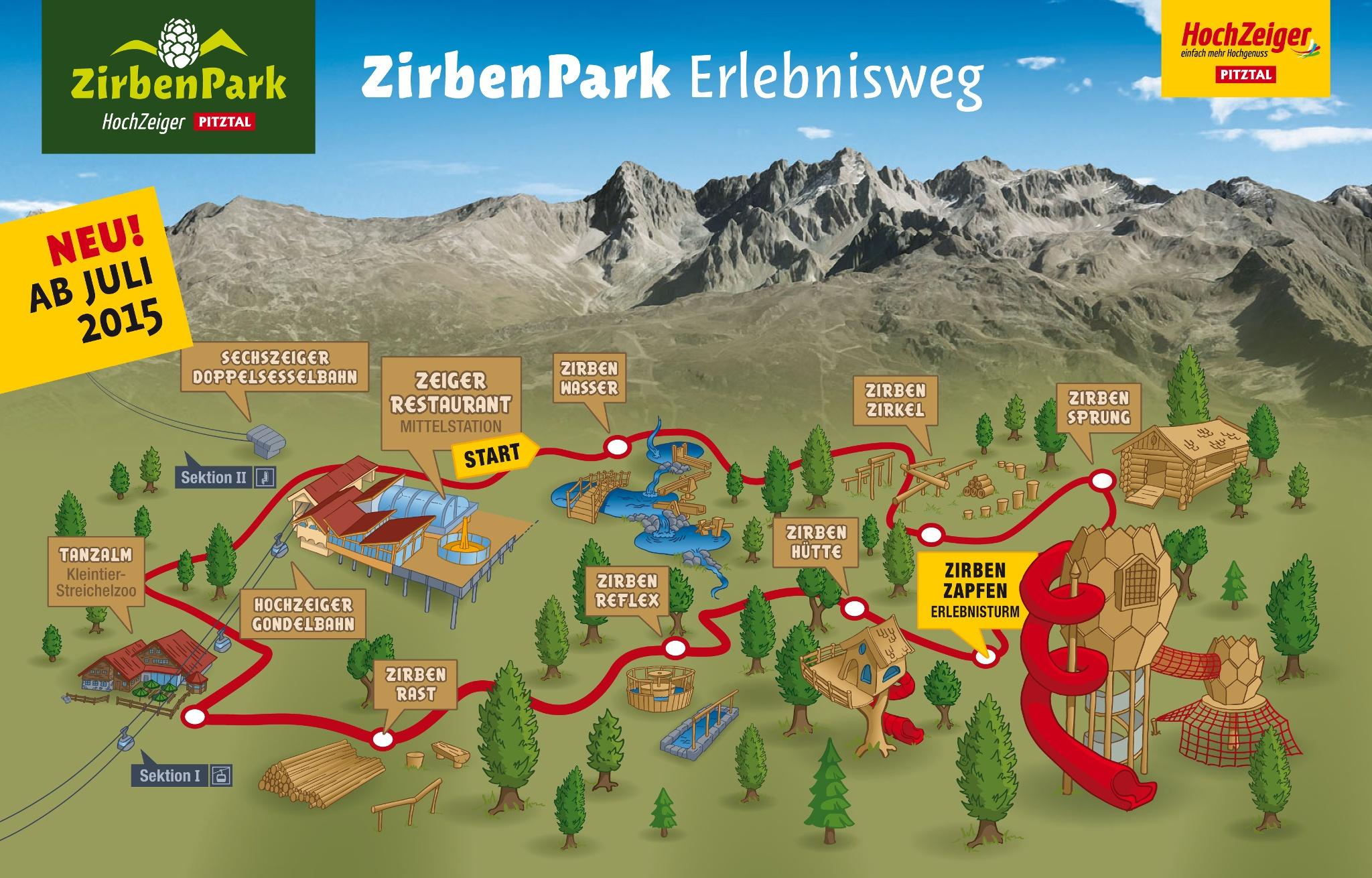 Pitztal Karte.Spaziergang Durch Den Zirben Park Am Hochzeiger Wanderung