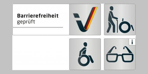 Piktogramm Barrierefreiheit