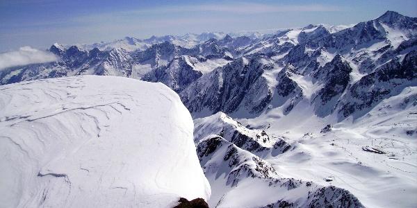 Panorama vom Gipfel (II)
