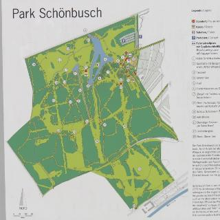 Kartenübersicht Park Schönbusch