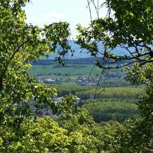 Blick von der Kirschweiler Festung