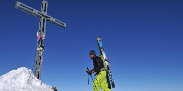 Similaun: Gipfelkreuz