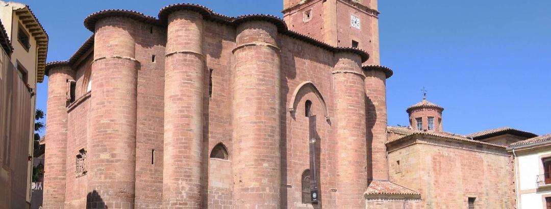 Das ehemalige Kloster in Najera