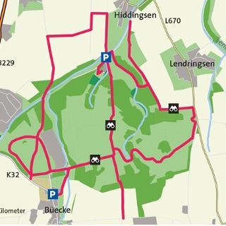 Karte Kleiberg