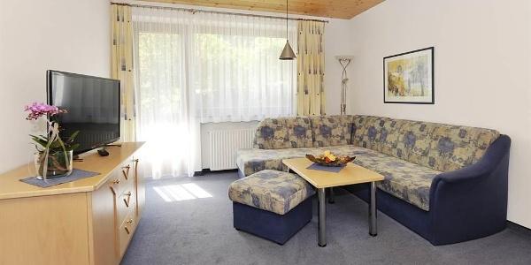 gemütliches Wohnschlafzimmer