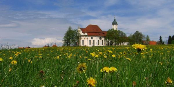 Wieskirche das Weltkulturerbe im Allgäu
