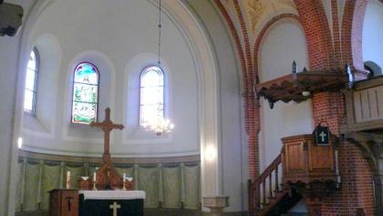 Innenansicht Kirche Drachhausen
