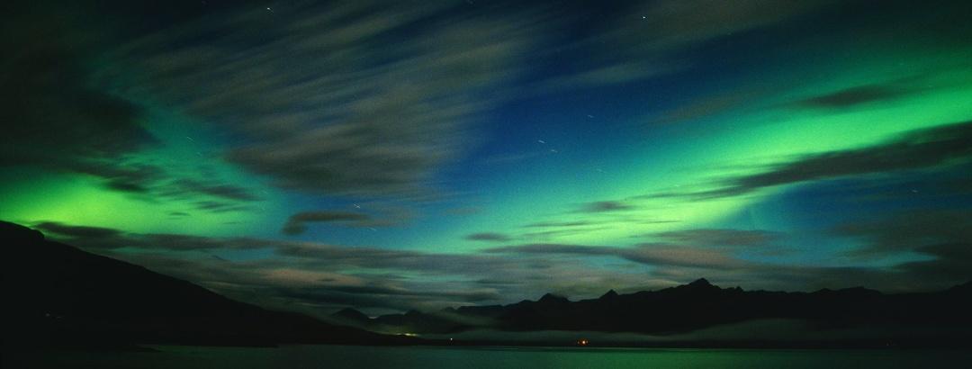 Nordlicht in den Ostfjorden