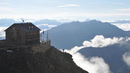 Morgenstimmung auf der Zwickauer Hütte
