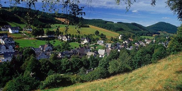 Blick über Westfeld