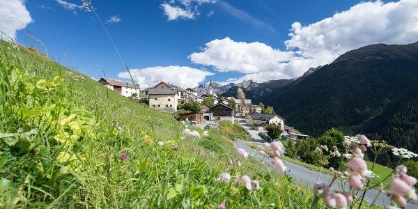 Guarda, das Schellen-Ursli Dorf im Unterengadin