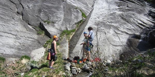 Einstieg Touren: Alpiner Spätaufsteher, Pink 2015, Gebrochene Rippe