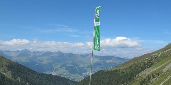 Anton-Renk-Hütte - schöner Blick