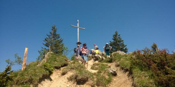 Gipfelkreuz auf dem Hochhäderich