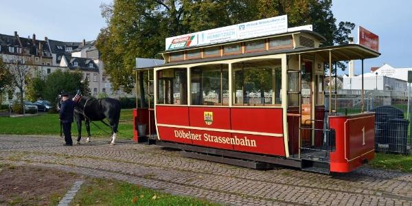 Döbeln, Pferdestraßenbahn
