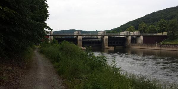 Staustufe Wahnhausen